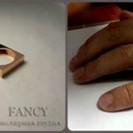 minimalism square ring